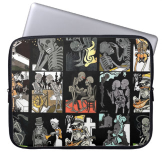 Danse Macabre laptop sleeve