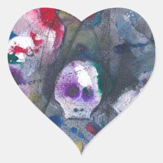 Danse Macabre Heart Stickers