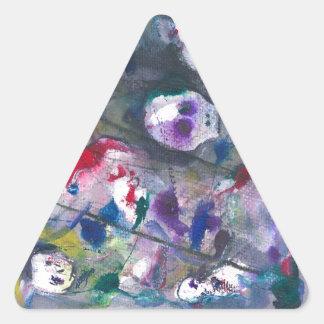 Danse Macabre Triangle Sticker
