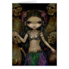 """Danse Macabre :  Tribal Fusion"" Greeting Card"
