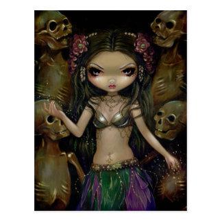 Danse Macabre Tribal Fusion Postcard