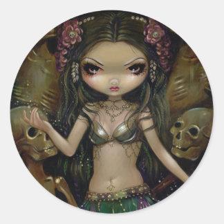 """""""Danse Macabre :  Tribal Fusion"""" Sticker"""