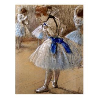 Danseuse Dancer Edgar Degas Postcard