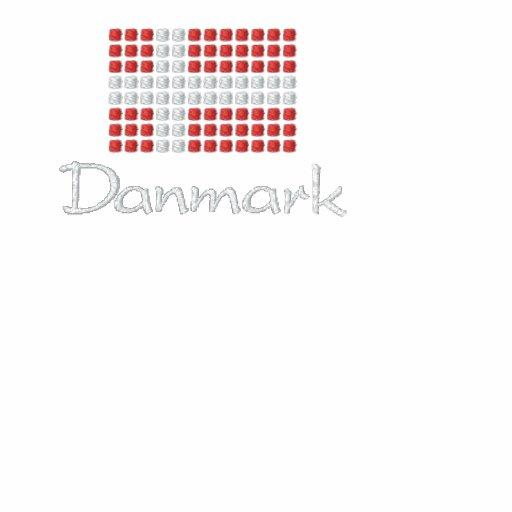 Danske Flag T-Shirt - Danish Flag T-Shirt