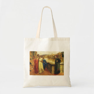 Dante and Beatrice Meet, Tote Bag