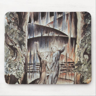 Dante and Virgil Entrance to Hell Mouse Pad