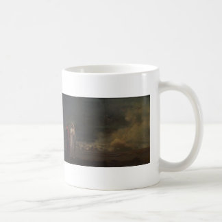 Dante and Virgil in Hell by Jean-Leon Gerome Basic White Mug
