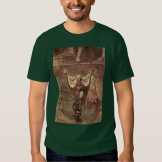 Dante And Virgil In The Ice Of Kozythus. By Johann T Shirt
