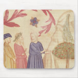 Dante and Virgil  in the Terrestrial Paradise Mousemat