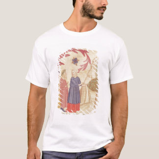 Dante and Virgil  in the Terrestrial Paradise T-Shirt