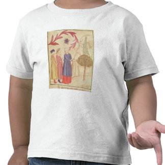 Dante and Virgil  in the Terrestrial Paradise Tshirt