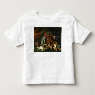 Dante  and Virgil  in the Underworld, 1822 Toddler T-Shirt