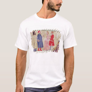 Dante and Virgil  with Francesca da Rimini T-Shirt