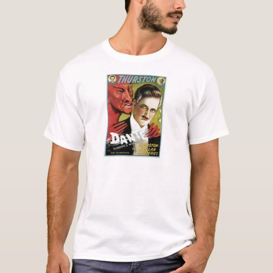 Dante ~ Europe's Magician Vintage Magic Act T-Shirt