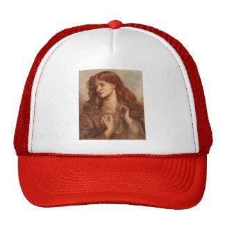 Dante Gabriel Rossetti: Alexa Wilding Hats