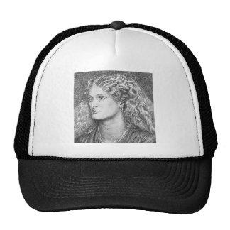Dante Gabriel Rossetti: Annie Miller Trucker Hat