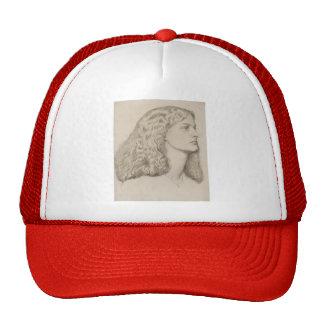 Dante Gabriel Rossetti: Annie Miller Hats