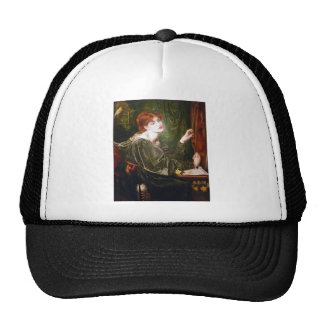 Dante Gabriel Rossetti Art Cap