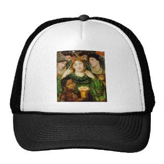 Dante Gabriel Rossetti Art Mesh Hats