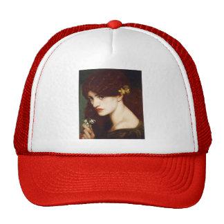 Dante Gabriel Rossetti- Blanzifiore (Snowdrops) Trucker Hat