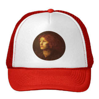 Dante Gabriel Rossetti- Fanny Cornforth Trucker Hats