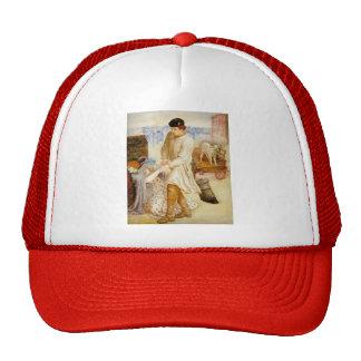 Dante Gabriel Rossetti- Found Mesh Hat