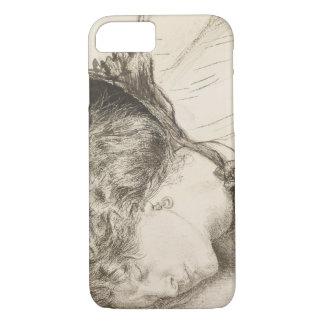 Dante Gabriel Rossetti - Found -Study for the Head iPhone 7 Case