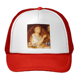 Dante Gabriel Rossetti: Golden Tresses Hat