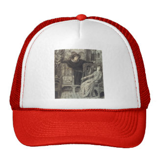 Dante Gabriel Rossetti: Hamlet and Ophelia Trucker Hat