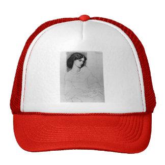 Dante Gabriel Rossetti: Jane Burden, aged 18 Trucker Hat