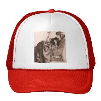 Dante Gabriel Rossetti: Jane Morris Hats