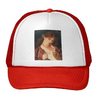 Dante Gabriel Rossetti: Joli Coeur (French for) Trucker Hat