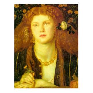 Dante Gabriel Rossetti Kissed Mouth Postcards