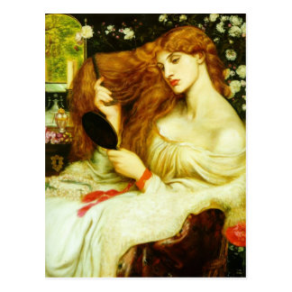 Dante Gabriel Rossetti- Lady Lilith Postcard