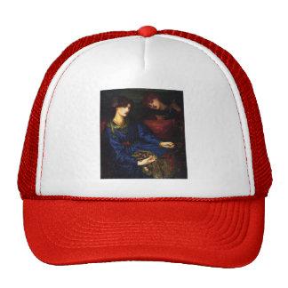 Dante Gabriel Rossetti- Mariana Trucker Hat