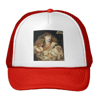 Dante Gabriel Rossetti- Monna Vanna Mesh Hats