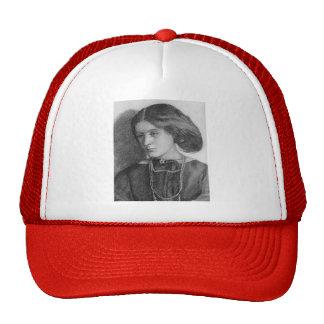 Dante Gabriel Rossetti: Mrs. Burne Jones Trucker Hat