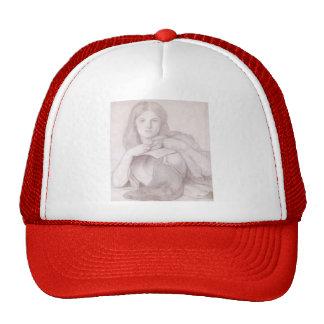 Dante Gabriel Rossetti: My Lady Greensleeves Trucker Hat