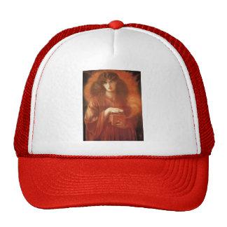 Dante Gabriel Rossetti- Pandora Mesh Hat