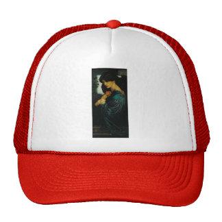 Dante Gabriel Rossetti- Proserpine Mesh Hats