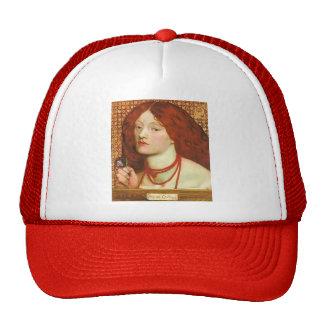Dante Gabriel Rossetti: Regina Cordium Mesh Hat