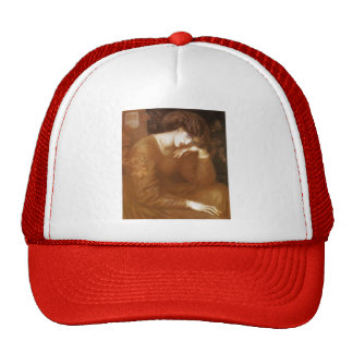 Dante Gabriel Rossetti- Reverie Hat