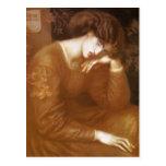 Dante Gabriel Rossetti- Reverie Postcards