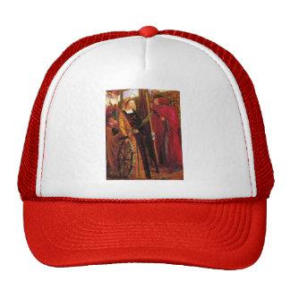 Dante Gabriel Rossetti- Saint Catherine Trucker Hat