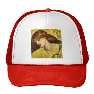 Dante Gabriel Rossetti- Sancta Lilias Cap