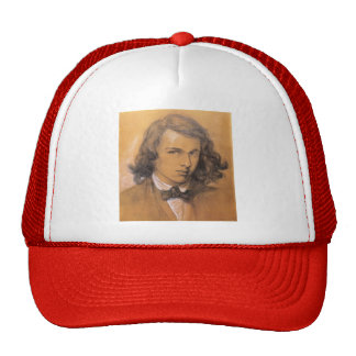 Dante Gabriel Rossetti- Self-Portrait Trucker Hat
