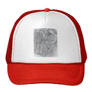 Dante Gabriel Rossetti- Silence Mesh Hats