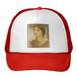 Dante Gabriel Rossetti: Study of a Girl Hats