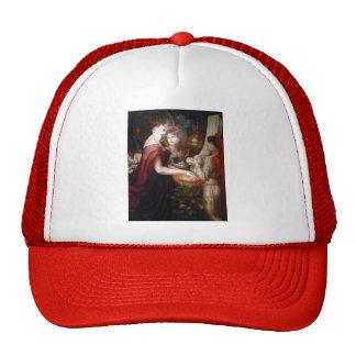 Dante Gabriel Rossetti- The beautiful Hand Trucker Hats