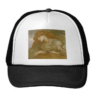 Dante Gabriel Rossetti: The Blessed Damozel Study Cap